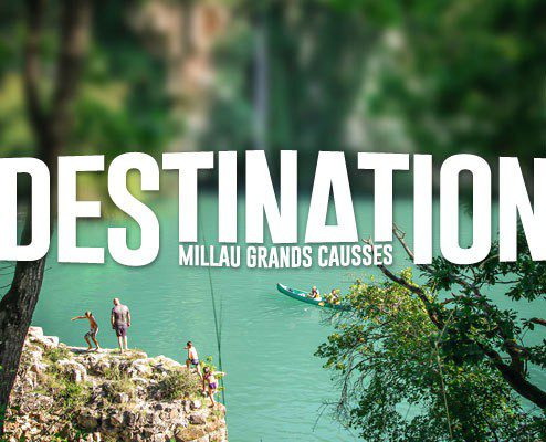 Conception graphique du magazine de l'Office de Tourisme Millau Grands Causses