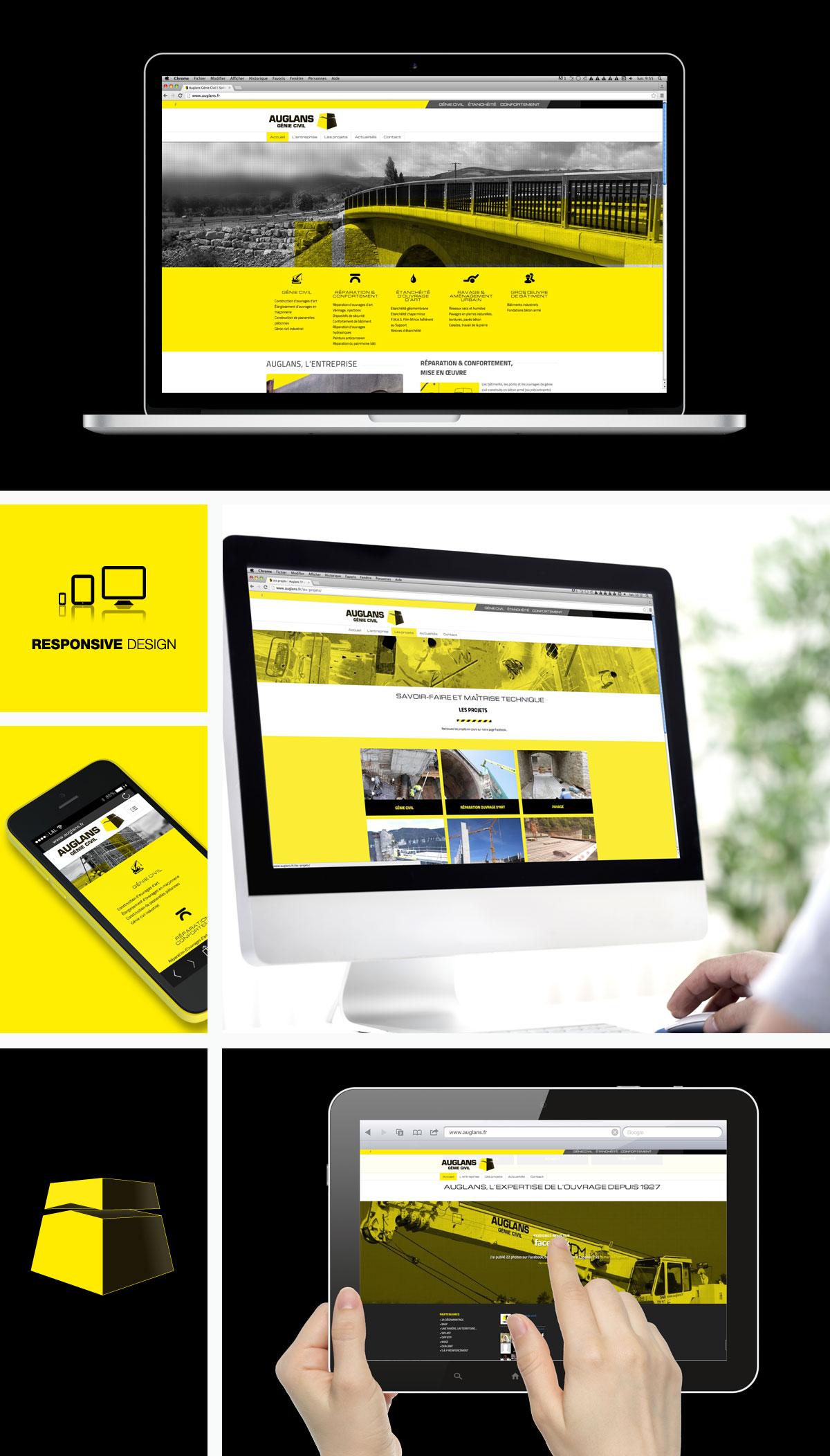 Creation de site internet Auglans
